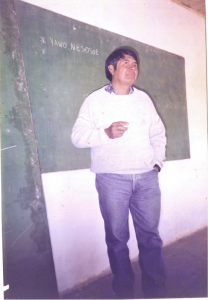 Taller de capacitación en Lengua Pilagá Ce.Ca.Zo. (Pozo del Tigre 1997 - 1998). Ignacio Silva.