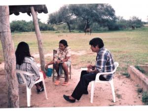Taller de capacitación en Lengua Pilagá. Ce.Ca.Zo. (1997 - 1998) Solano Caballero